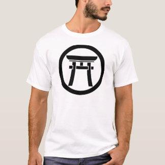 In medium flower Torii T-Shirt