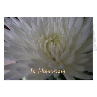 In Memoriam Greeting Card