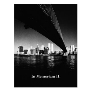In Memoriam II. Postcard