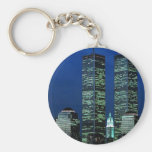 In Memoriam In memory of Twin Towers WTC NYC Keychain