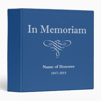 In Memoriam Photo or Guest Book Binders