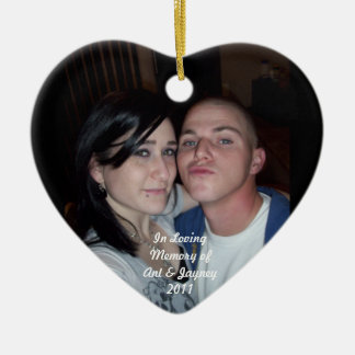 In Memory of Anthony & Jayney Watson Ornament