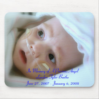 In Memory of Baby Landon Mousepad