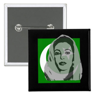In Memory of Benizir Bhutto Pins