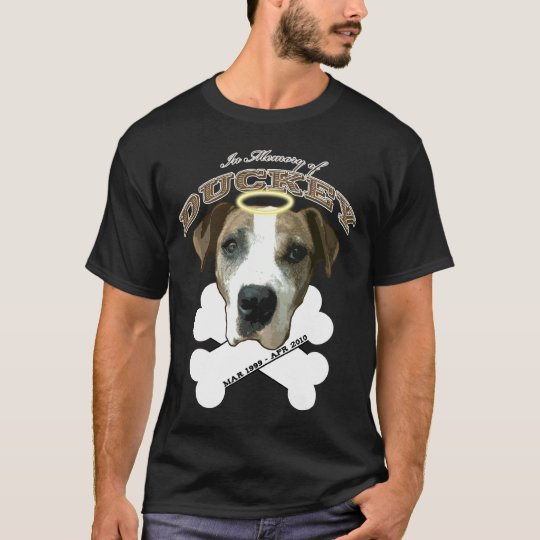 In Memory of Duckey (Dark colours T-Shirt) T-Shirt