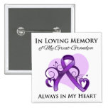 In Memory of My Great-Grandpa - Pancreatic Cancer Buttons