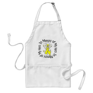 In Memory of My Hero Suicide Prevention Standard Apron