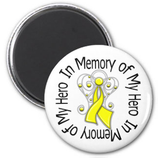 In Memory of My Hero Suicide Prevention Fridge Magnet