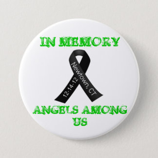 In Memory of Newtown, Ct 3 Inch Round Button