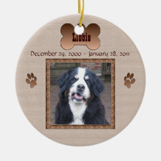 In Memory of Your Dog Ceramic Ornament