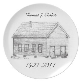 In Memory Plate - Thomas J. Sholar