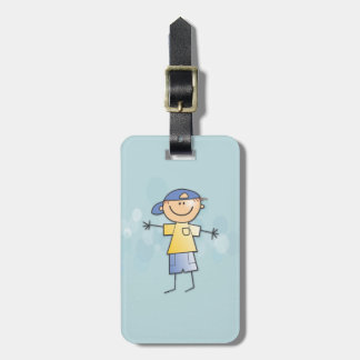 in my arms luggage tag