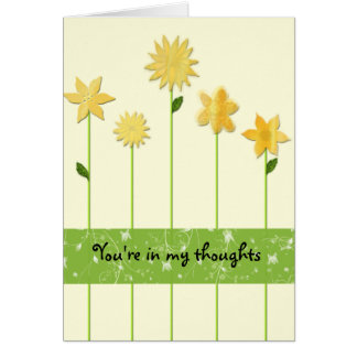 In my heart, Secret Pal Greeting Card