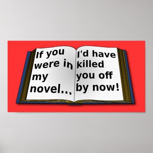 In My Novel Poster