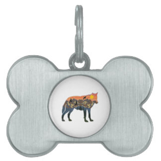 IN NEW WORLDS PET ID TAG