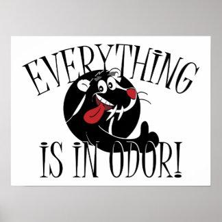 In Odor Skunk Poster