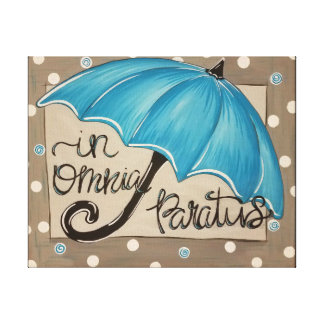 In Omnia Paratus Canvas Painting