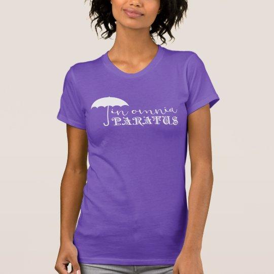 In Omnia Paratus Purple T-Shirt