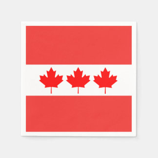 In Order Canada Day Party Paper Napkins