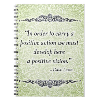 In order to carry a positive - Positive Quote´s Notebooks