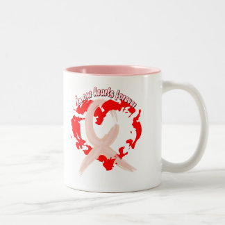 In Our Hearts Forever Two-Tone Coffee Mug