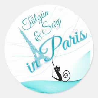"""""""in Paris"""" sticker"""