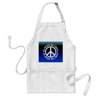 In Peace We Trust Aprons