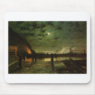 In Peril by John Atkinson Grimshaw Mouse Pad