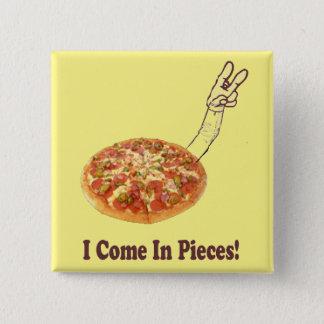 In Piece 2 Inch Square Button