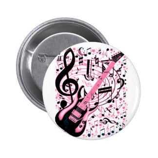 In Pink,Rock & Roll_ 2 Inch Round Button