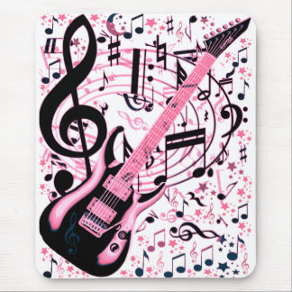 In Pink,Rock & Roll_ Mouse Pad