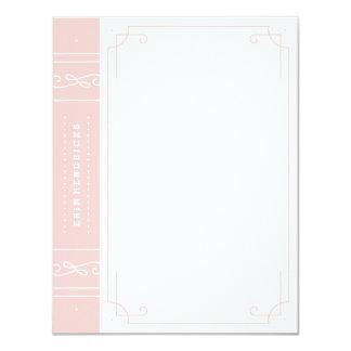 In Print Stationery - Bubblegum Card