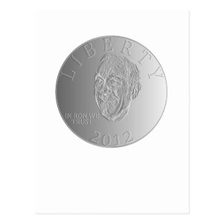 In Ron Paul We Trust Liberty Coin 2012 Postcard