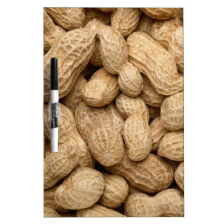 In-shell peanuts dry erase boards