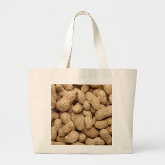 In-shell peanuts large tote bag
