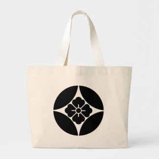In Shippo flower angle Large Tote Bag