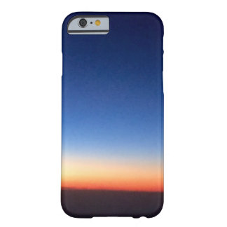 In sky of cobalt the evening sun. barely there iPhone 6 case