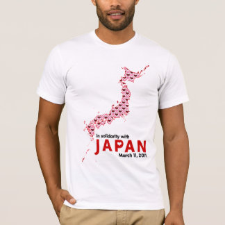 In Solidarity with Japan T-Shirt