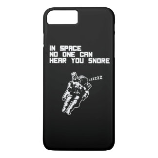 In Space No One Can Hear You Snore (dark) iPhone 7 Plus Case
