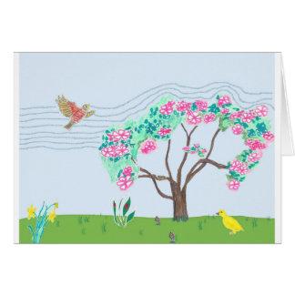 In Spring Card