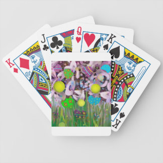 In Spring everything changes. Bicycle Playing Cards