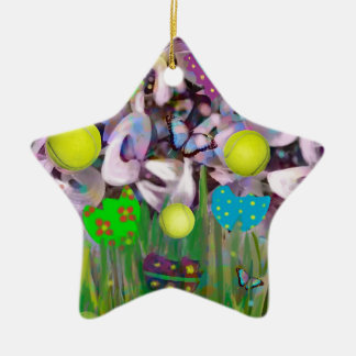 In Spring everything changes. Ceramic Ornament