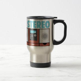 In Stereo Stainless Steel Travel Mug