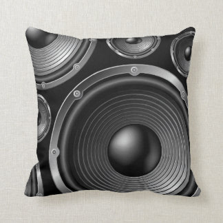 In Stereo Throw Pillow