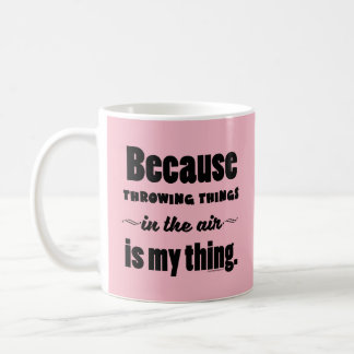 In the Air- Shot Put Discus Javelin Hammer Gift Coffee Mug