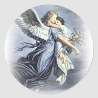 In the arms of an Angel Sticker