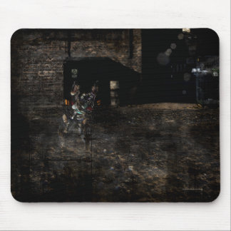 In the back alley Mousepad