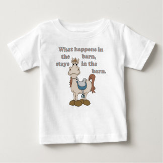 In the Barn Baby T-Shirt