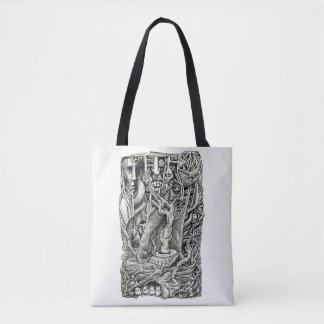 In the Basement, by Brian Benson Tote Bag
