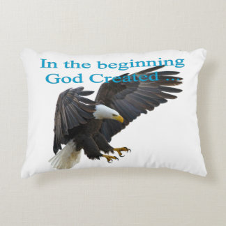 In the Beginning Decorative Pillow